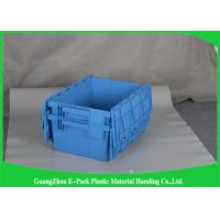 Wholesale 45L New PP Nested Plastic Storage Boxes With Lids , Light Weight Plastic Storage Bins from china suppliers