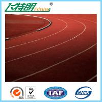 Wholesale Outdoor Rubber Running Track Material For Rubber Running Track Flooring / Rubber Playground Surfacing from china suppliers