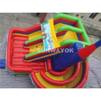 Wholesale Ice Age Theme Giant Commercial Inflatable Slide / Inflatable Boucy Castle Slide With Much Fun from china suppliers