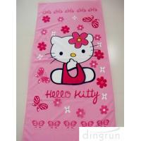 Wholesale Cartoon Design Custom Printed Beach Towels Quick Dry For Bath / Pool 70*140 Cm from china suppliers