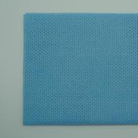Wholesale Blue Mash Nonwoven Cloth for Cleaning Desk from china suppliers