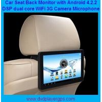 "Wholesale New Android 4.2.2 10.1"" back seat car monitor with Wifi,3G Function,FM transmitter from china suppliers"