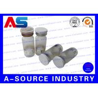 Buy cheap Embossed Logo Miniature Glass Vials Clear For Pharmaceutical Packaging from wholesalers