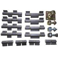 welding hinge heavy duty, kinds of iron gate hinge, material: steel, finishing:self color or zinc plating