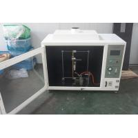 Wholesale UL Standard Flammability Test Apparatus For Cable / Wire 220V AC10A from china suppliers