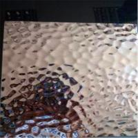 Wholesale Stainless Steel  Hammered  Sheet 304 316 grade Embossed Pattern 1219*2438mm Size from china suppliers