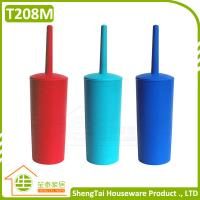 Wholesale New Design Colorful Long Shape Plastic Bowl Cleaning Brush from china suppliers