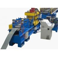 Wholesale 15KW 24 Stations Angle Rolling Machine , Rack Roll Forming Machine Hydrualic Shear from china suppliers