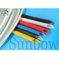 Wholesale Electrical Wire Insulating Silicone Fiberglass Sleeving 4.0mm from china suppliers