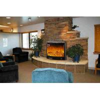 Wholesale Adjustable Flame Brightness Electric Wall Fireplace Heater With Remote from china suppliers