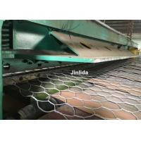 Wholesale Hydraulic Stainless Steel Wire Mesh Cutting Machine / GabionProductionLine from china suppliers