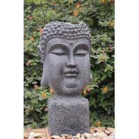 Quality Outside Garden Buddha Head Fountain / Asian Outdoor Fountain With CE GS TUV UL for sale