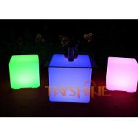 Wholesale Fashionable LED Bar Furniture Coffee Table For Pub , Illuminated  Cubes from china suppliers