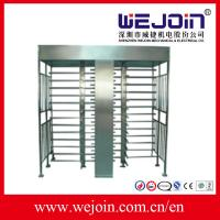 Wholesale IC , ID , magcard , bar code Full Height Turnstile security systems from china suppliers
