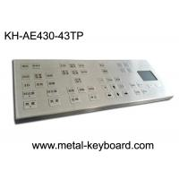 Wholesale Compact Water Resistant Stainless Steel Keyboard With Touchpad Mouse , 43 Keys from china suppliers