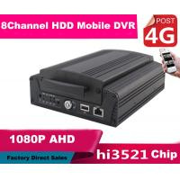 Wholesale 8CH FULL HD 1080P Hybrid DVR Car Mobile DVR 4G Real Time Recording from china suppliers