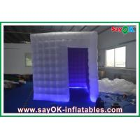 Wholesale Oxford Cloth PVC Coated Inflatable Photobooth Kiosk With Led Lights from china suppliers