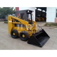 Wholesale Bobcat  type Bucket capacity  0.25m³  500kg wheel skid steer loader With Parkins404Dengine from china suppliers