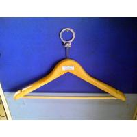Wholesale Flat plastic and wood garment, Spa and Hotel Clothes Hangers, Store ladies or men hanger from china suppliers