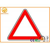 Wholesale Reflective Triangle Road Signs , Railway / Highway Traffic Signs Customized from china suppliers