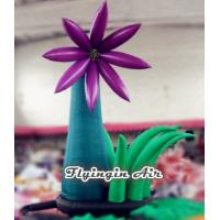 Wholesale Simple Outdoor Inflatable Flower with Blower for Wedding and Party Supplies from china suppliers