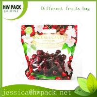 Wholesale red table grape zipper bag from china suppliers
