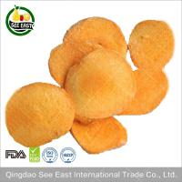 Quality GMP Supply 100% Natural A Grade Freeze Dried Apricot Chunks HACCP certified for sale