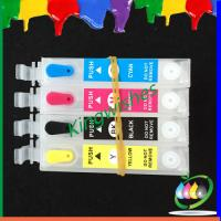 Wholesale T1901-T1904 ciss with chip for Epson ME401 refillable ink cartridge from china suppliers