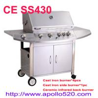 Wholesale Stainless Steel Gas BBQ Grill 6 burners from china suppliers