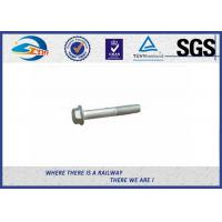 Wholesale DIN931 / 933 Hot Dip Galvanized Railway Bolt 8.8 Grade 45# Steel from china suppliers