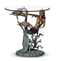 Wholesale Mermaid stand coffee table/Tea Table for home decoration from china suppliers