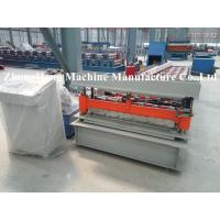 Wholesale Colorful Metal Roofing Sheet Roll Forming Machine Q235 Computer Control from china suppliers