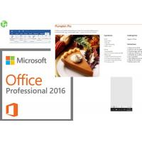 Quality Computer System Office Product Key Card , MS Office Key Card Pro Plus 2013 for sale