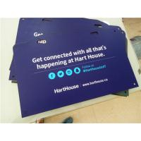 Wholesale High Density PVC Custom Sign Boards Double Sided Full Color Printing from china suppliers