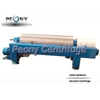 Quality PLW Series Horizontal Solid Bowl Separator Centrifuge for Barite Separation for sale