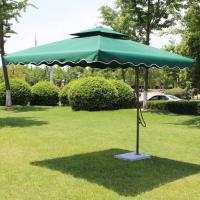 Wholesale Round / Square Outdoor Patio Umbrellas With Aluminium Pole , Large Garden Parasol from china suppliers