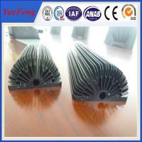Wholesale Hot! Black Anodized Aluminum Sunflower Heatsink, aluminum heat sink extrusion profiles from china suppliers