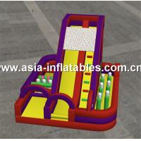 Wholesale Outdoor Playground,  Inflatable Obstacle Chanllenges Game For Kids from china suppliers