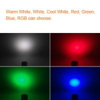 Quality RGB Deck Downlights DC12V~24V Water Proof Inground LED IP68 Outdoor Color Changing Spotlights for sale