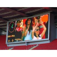 Buy cheap HD High Brightness Outdoor pitch 10mm Stadium  Led Display for Advertising Show Events from wholesalers