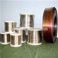 Buy cheap low resistance coefficient F2 6J13 manganin alloy Constantan Wire for heating purpose from wholesalers