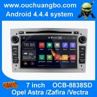 Wholesale Ouchuangbo android 4.4 Opel Astra  Zafira sliver colour capacitive canbus 3G WIFI free map from china suppliers