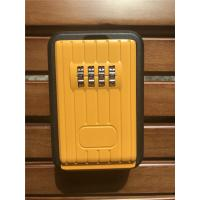 Wholesale Digital Combination Outdoor Door Key Safe Box Black & Yellow from china suppliers