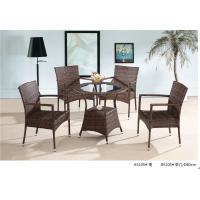 Wholesale 2014 China popular pe rattan table chair furniture sets from china suppliers