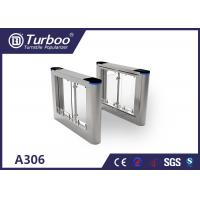 China High Temperature Resistance Swing Barrier Gate With Voice And Strobe Light Alerts on sale