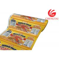 Wholesale Laminated Plastic Rollstock Film For Snack Food Packaging In Supermarket from china suppliers