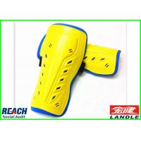 Quality Yellow Practical Knee Shin Guards Promotional Sports Products Body Armour for sale
