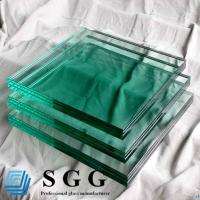 Wholesale Light Green Laminated Glass Price 8.38mm 10.38mm 12.38mm from china suppliers