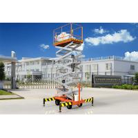 Wholesale Low Noise Mobile Aerial Work Platform One Man Lift For Indoor / Outdoor Construction from china suppliers