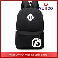 Wholesale black backpacks Stylish Vintage Travel Hiking Backpacks School Bag for Men from china suppliers